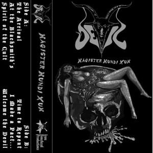 "DEVIL [Nor] ""Magister Mundi Xum"""