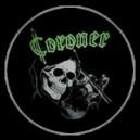 """Coroner """"Skull w/ Violin"""""""
